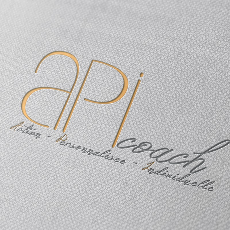 Logo ApiCoach, by #trendy