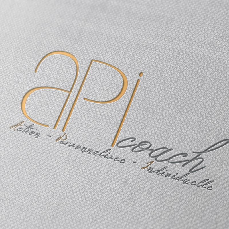 Logo ApiCoach, by #trendy
