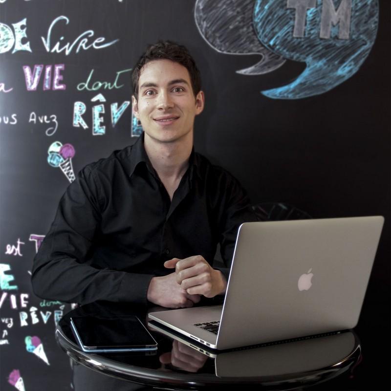 Amaury PANNELIER, gérant chez #trendy